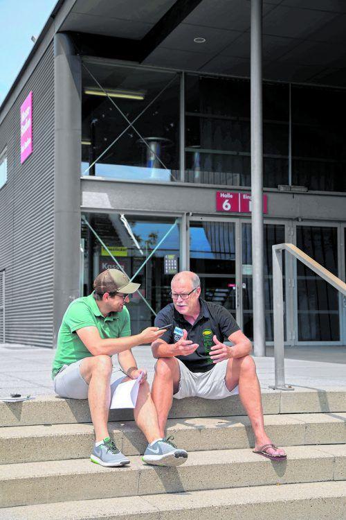 Bulldogs-Coach Dave MacQueen verrät VN-Mitarbeiter Albert Brandstätter seine Gedanken zu Saison sieben in Dornbirn.VN/PAulitsch