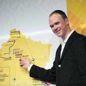 Froome führt dasSky-Team bei Tour an
