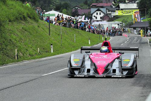 Christoph Lampert feierte mit seinem Osella-FA-30-Zytek in St. Anton an der Jeßnitz seinen ersten Saisonsieg, garniert mit einem Fabel-Streckenrekord. fuchsbichler