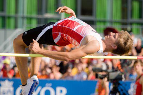 Daniel Bertschler verbesserte bei der Jugend-EM in Györ im Zehnkampf seinen eigenen Unter-18-Landesrekord um 48 Zähler auf 6801 Punkte.ÖLV