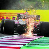 Vettel vor heißem Tanz mit der Ex