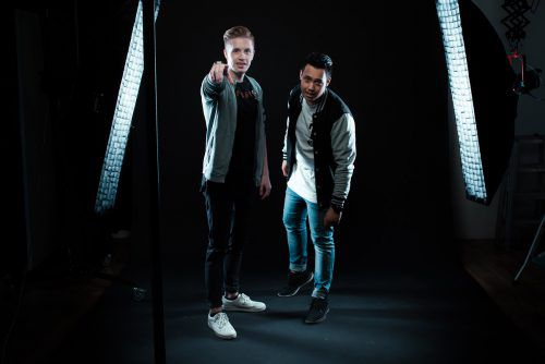 Das DJ-Duo Nic&Krevatin sorgt für heiße Beats und gute Laune bei freiem Eintritt. philip breuss