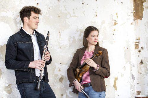 Klarinettist Alex Ladstätter und Geigerin Natalia Sagmeister haben das Festival Krumbach Klassik initiiert und das Geschwisterpaar hat Erfolg damit. petra rainer