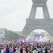 Frankreichs Freude, Kroatiens Kummer
