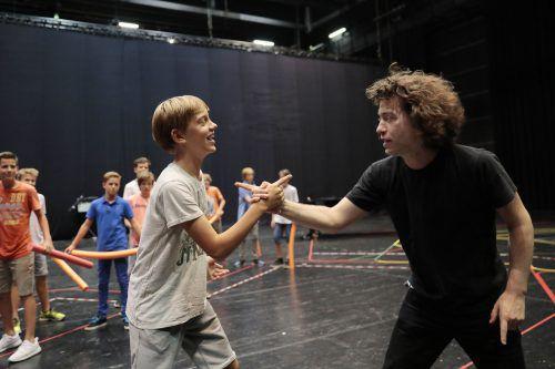 Das Kinder- und Jugendprogramm der Bregenzer Festspiele erlebt diese Woche seinen Höhepunkt. bf/Köhler