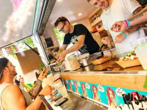 """Das Konzept """"Foodtruck"""" kommt bei den Vorarlbergern gut an. Street Cuisine"""