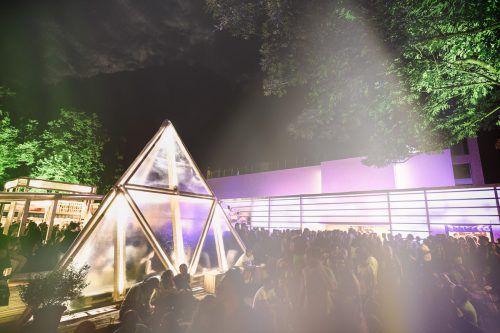 "Das Kunstmuseum Liechtenstein präsentiert den ""Arty Friday"" am poolbar-Festival in Feldkirch.veranstalter"