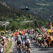 Wachablöse vor Alpe-dHuez-Etappe
