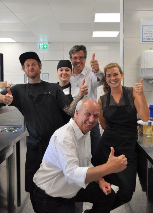 Das neue Roots-Team rund um Chefkoch Patrick Schrall. Ronacher