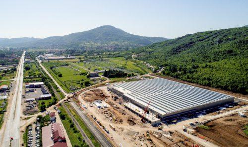Das neue Werk in Serbien hat die Produktion aufgenommen. Zumtobel
