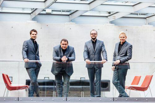 Das Quartett Quartonal wurde bei zahlreichenWettbewerben ausgezeichnet. quartonal
