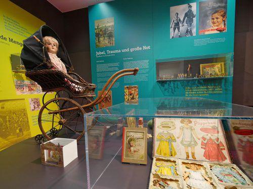 Das Schulmuseum Friedrichshafen behandelt in einer Sonderausstellung prägende Spiele in der Kindheit, vom Mittelalter bis heute. Voith