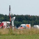 Zwei Tote bei Absturz von Sportflugzeug