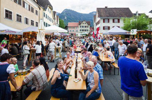 Das steirische Weinfest ist ein traditioneller Treffpunkt für viele Besucher aus Vorarlberg und der benachbarten Schweiz. hohenems tourismus