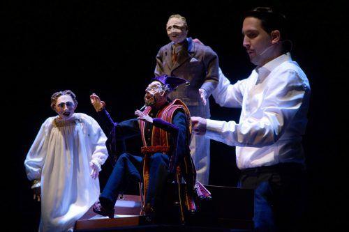 """Das Stück """"Böhm"""" von Paulus Hochgatterer wurde in Graz von Nikolaus Habjan uraufgeführt und gestern Abend im Rahmen der Bregenzer Festspiele gezeigt. BF/karl Forster"""