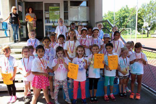 Das traditionelle Sport- und Spielefest der Volksschule Lochau sorgte wieder für einen tollen gemeinsamen Abschluss eines erfolgreichen Schuljahres. bms