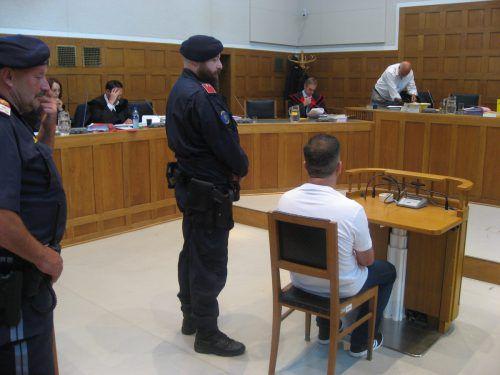 Der 48-jährige Angeklagte gestern im Schwurgerichtssaal. Am heutigen Freitag wird das endgültige Urteil erwartet. Eckert