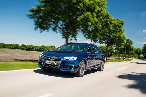 Der Audi A4 Avant g-tron wird von einem auf Erdgasbetrieb adaptierten Zweiliter-Vierzylinder-Turbobenziner angetrieben. Leistungsausbeute: 170 PS.