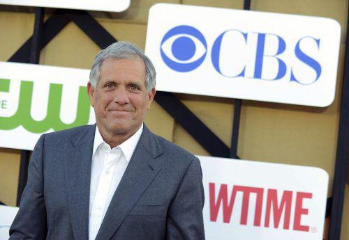 Der Chef des US-Fernsehsenders CBS, Leslie Moonves, soll über Jahrzehnte hinweg Frauen sexuell belästigt haben. ap