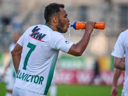Der Ex-Austrianer Paulo Victor (22) wechselte im Sommerzu Vorarlbergligameister FC Langenegg. gepa