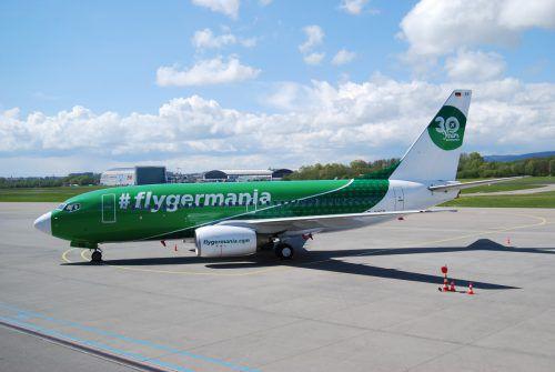 Der Ferienflieger Germania erweitert sein Angebot in Friedrichshafen. Fa
