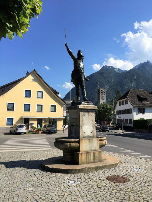 Bernhard Riedmiller wacht wieder über Bludenz. VN/Schwald