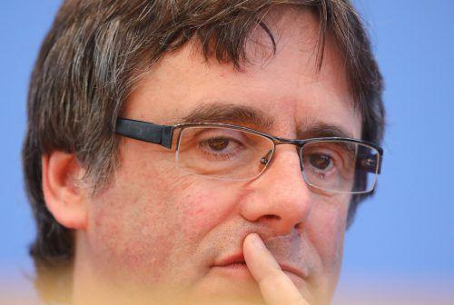 Der katalanische Ex-Regionalpräsident Carles Puigdemont will weiterkämpfen. RTS