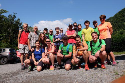 Der Lauftreff Hohenems begab sich kürzlich auf Vereinsausflug. Statt zum Laufen ging es jedoch zum Wandern. Lauftreff