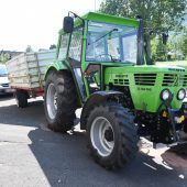 Promillefahrer baut Unfall mit Traktor