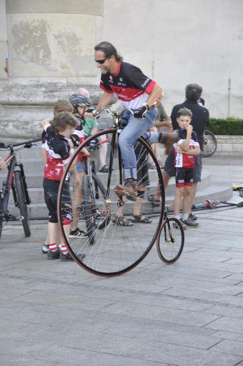 Der Radverein Dornbirn zeigte seine Leidenschaft für Zweiräder.