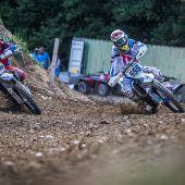 Große Motocross-Show in Möggers