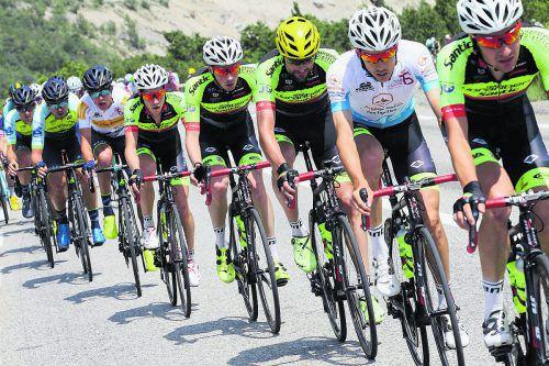 Der Team Vorarlberg Santic geht in Bestbesetzung den Auftritt bei der Österreich-Radrundfahrt an. rv