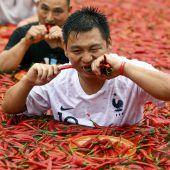 Chinese ist scharf auf Scharfes