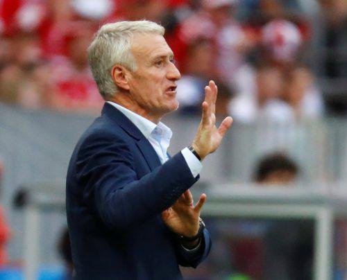 Didier Deschamps dirigiert Frankreich.afp