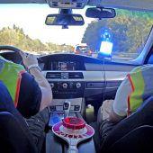 Grenzpolizei Lindau macht mobil
