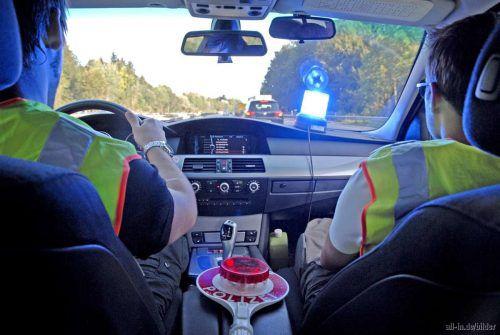 Die Einsatzfahrzeuge der neuen Lindauer Grenzpolizei sind seit Sonntag mit zusätzlicher Technik ausgestattet. Bundespolizeidirektion