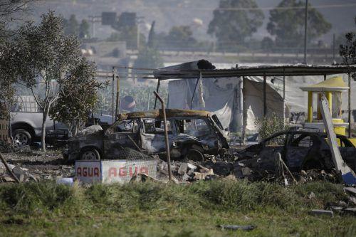 Die Explosionen haben 24 Todesopfer gefordert und schwere Schäden angerichtet.AP