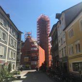 Frauenkirche in Feldkirch wird herausgeputzt