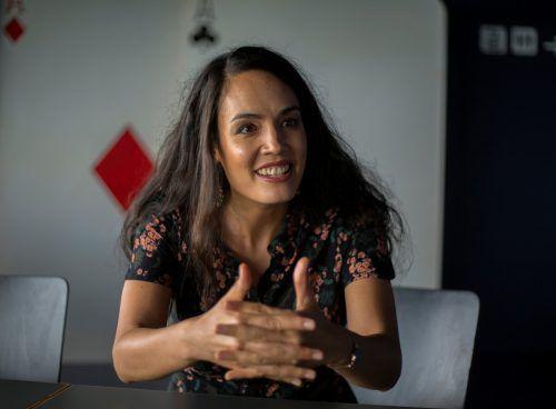 Die französische Opernsängerin Gaëlle Arquez verkörpert auf der Seebühne eine eigenwillige und unabhängige Frau. VN/Paulitsch