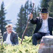 Auf der Flucht im österreichisch-schweizerischen Grenzgebiet