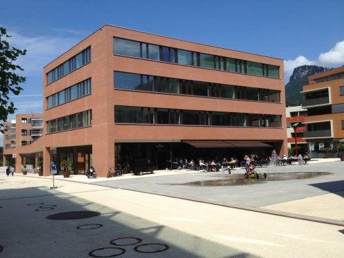 Die Kathi-Lampert-Schule ist im Bildungshaus am Götzner Garnmarkt beheimatet. VHS Götzis