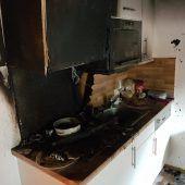 Feuerwehreinsatz wegen Küchenbrand
