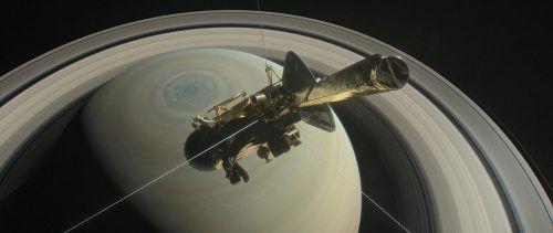 """Die Liveübertragung des Endes der """"Cassini"""" wurde für den Emmy nominiert. RTS"""