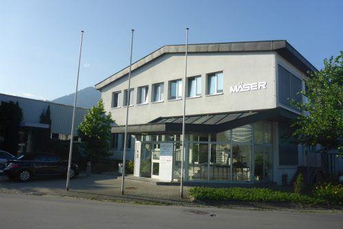 Die Mäser Group mit Sitz in Dornbirn sieht sich im laufenden Geschäftsjahr 2018 mit neuen Herausforderungen konfrontiert.Fa/Bitschnau