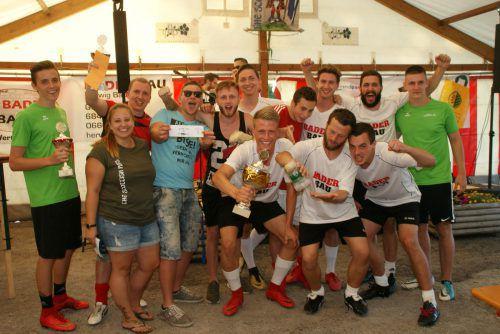 Die Mannschaft von Baderbau war das Siegerteam des Charity-Turniers. pezold