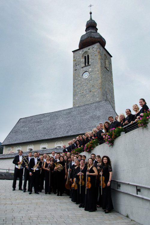 Die Neue Lecher Kirche bietet den Künstlern eine ganz besondere Atmosphäre bei ihren Auftritten. LZT