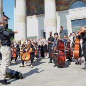 Musik zum Start von Österreichs EU-Ratsvorsitz