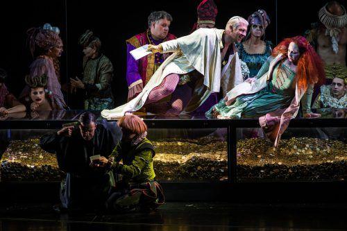 """Die Oper """"Beatrice Cenci"""" von Berthold Goldschmidt basiert auf einem Kriminalfall im Rom des späten 16. Jahrhunderts, in den der Klerus auf erschütternde Weise verstrickt war. VN/Steurer"""