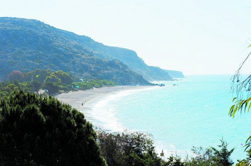 Die Pissouri-Bucht zählt zu den schönsten auf der Insel. beat e rhomberg
