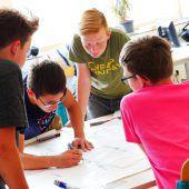 Schüler planen eigenen Schulhof